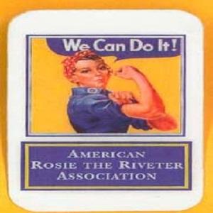 Vintage Looking  Rosie The Riveter  ** Refrigerator Magnet **